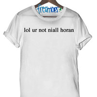 lol ur not niall horan