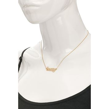 Bossy Silver Necklace