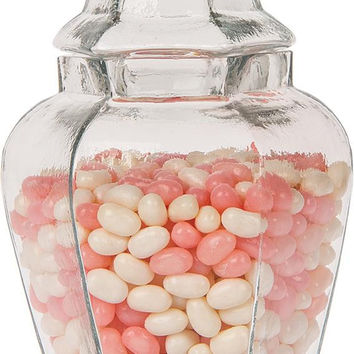 Glass Apothecary Jar (Small Hyssop design)