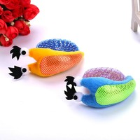 Funny Cute Snail Shape Pet Cat Toy Cat Interactive Scratch Chewing Playing Toys Plush Grinding Claw Pipe Multicolor Cat Supplies