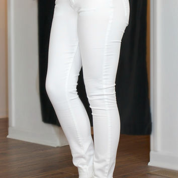 Gossip Girl Jeggings-White
