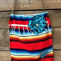 Keep It Gypsy Hazel Crossbody Bag in Red Serape