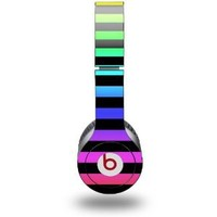 Stripes Rainbow Decal Style Skin fits Beats Solo HD Headphones - (HEADPHONES NOT INCLUDED)