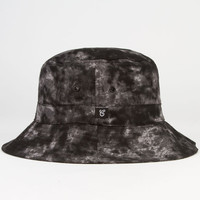 City Fellaz Dye Mens Bucket Hat Black One Size For Men 23269310001