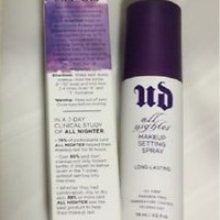 Urban Decay All Nighter Make-up Setting Spray Long Lasting 4oz. - NIB