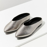 UO Metallic Pointy Mule | Urban Outfitters