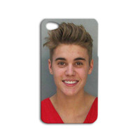 DUI Justin Bieber Case Cute Funny iPhone Case iPhone 4 Case iPhone 5 Case iPhone 4s iPhone 5s Case iPod 4 Case iPod 5 Case iPod Touch Case