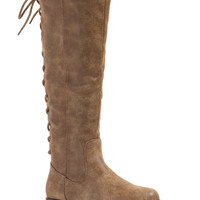 Stop Frontin' Weathered Laced Boots