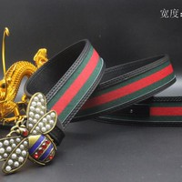 Gucci Belt Men Women Fashion Belts 538090