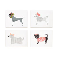 Girlie Dogs Assorted Note Card Set