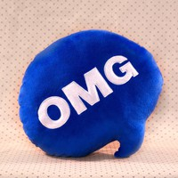 OMG Chat Pillow