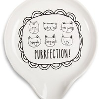 Purrfection! Spoon Rest