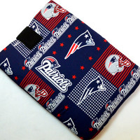 New England Patriots/Football Team Sleeve/NFL Kindle Fire Foam Padding / Galaxy Cover/ Google Nexus / iPad