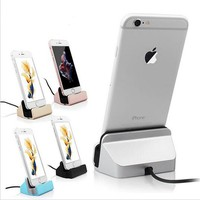 Charger Dock Stand Station For Apple iPhone SE 5 5S 5C 6 6S Plus Charging Dock