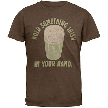 Guinness - Hold Something Irish Soft T-Shirt