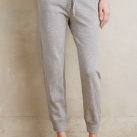 Wilt Cropped Heather Joggers in Grey Size: