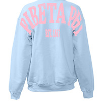 Pi Beta Phi Sweatshirt Stadium Jersey