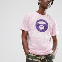 AAPE By A Bathing Ape Logo T-Shirt at asos.com