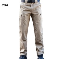 CQB Outdoor Sports Tactical Men's Pants Four Seasons Multi-pocket for Hunting Climbing Riding Plus Size Hiking Trousers