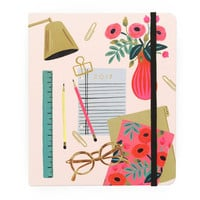 2017 Rifle Paper Co. Everyday 17 Month Planner - Desktop