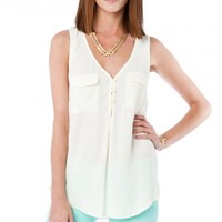 KINA TANK IN CREAM