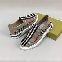 BURBERRY 2021Men Fashion Boots fashionable Casual leather Breathable Sneakers Running Shoes08210cx