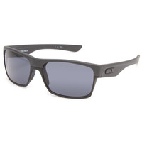 Oakley Twoface Sunglasses Steel/Dark Grey One Size For Men 24049011501