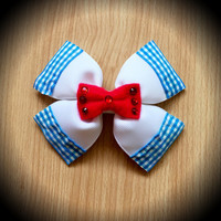 Wizard of Oz Dorothy Character Hair Bow