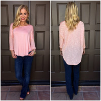 Make Me Blush Knit Top