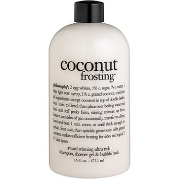 Philosophy Coconut Frosting 3-in-1 Shampoo,Body Wash, and Bubble Bath Ulta.com - Cosmetics, Fragrance, Salon and Beauty Gifts