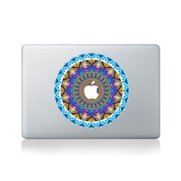 Aztec Mandala Vinyl Macbook Sticker for Macbook 13/15