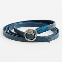 Good Work(s) Make A Difference 'Courage' Leather Wrap Bracelet