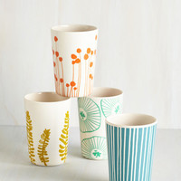 Gathering of Fronds Cup Set by ModCloth