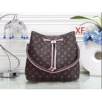 Louis Vuitton LV Women Fashion Leather Shoulder Bag Satchel Handbag