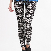 The In Crowd Take Me There Leggings at PacSun.com