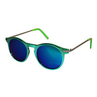 **RIVER GREEN SUNGLASSES BY JEEPERS PEEPERS