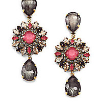 Erickson Beamon - Happily Ever After Double Teardrop Earrings - Saks Fifth Avenue Mobile