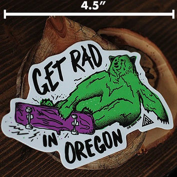 Get Rad Sticker