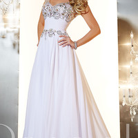 Embellshed Panoply Floor Length Prom Dress