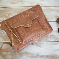 Distressed Leather Crossbody,Brown Leather Crossbody Bag,Brown Leather Purse,Boho Crossbody Bag,Brown leather Bag,Distressed Leather Bag