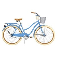 """Huffy Deluxe 26"""" Ladies' Cruiser Bike with Basket and Beverage Holder"""