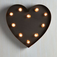 Dorm Decor Backstage Sweetheart Lamp by ModCloth