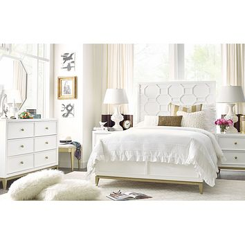 7810 Chelsea Panel Bed by Rachael Ray