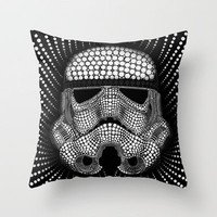 Trooper Star Circle Wars Throw Pillow by Msimioni | Society6
