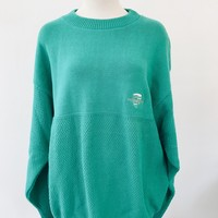 VINTAGE PORSCHE SWEATER- GREEN