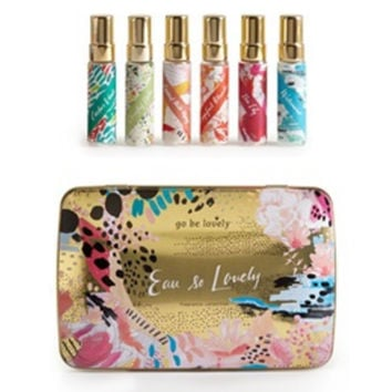 Go Be Lovely Tin Fragrance Collection