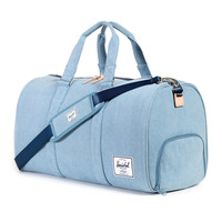 Herschel Supply Co.: Novel Duffle Bag - Denim 12oz Cotton Canvas