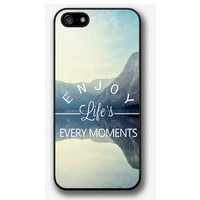 iPhone 4 4S 5 5S 5C case, iPhone 4 4S 5 5S 5C cover, Enjoy Life's Every Moments