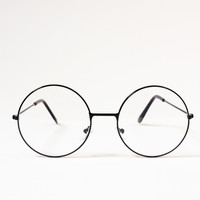 HP Metal Circle Glasses