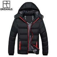 Winter Jacket Warm Coat Thick Parka Chaquetas Men Coats Jackets Slim Fit Outwear Casual Clothing